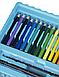 "Набор для рисования І Для детского творчества I В чемодане из 208 предметов І ""Чемодан творчества"" Синий, фото 5"