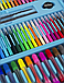 "Набор для рисования І Для детского творчества I В чемодане из 208 предметов І ""Чемодан творчества"" Синий, фото 6"