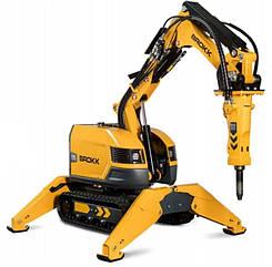 Робот для демонтажа с дистанционным управлением BROKK 170