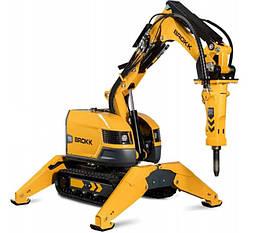 Робот для демонтажа с дистанционным управлением BROKK 200