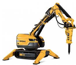 Робот для демонтажа с дистанционным управлением BROKK 300
