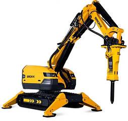 Робот для демонтажа с дистанционным управлением BROKK 500