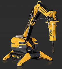 Робот для демонтажа с дистанционным управлением BROKK 520D