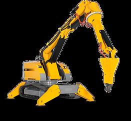 Робот для демонтажа с дистанционным управлением BROKK 800P