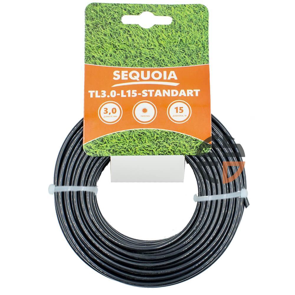 Косильная леска SEQUOIA TL3.0-L15-Standart