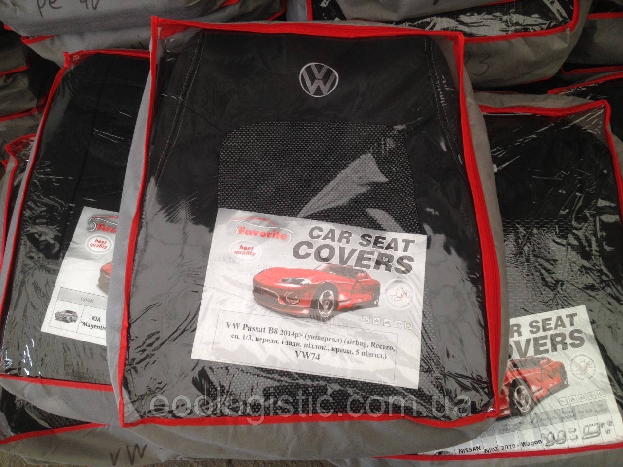 Авточохли Favorite на Volkswagen Passat B8 2014 - універсал