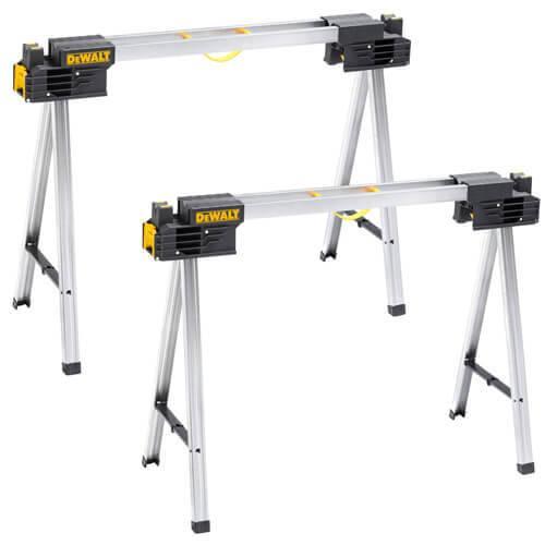 Козли складні (пара) витримують вагу до 900 кг, висота 1117 мм, DeWALT DWST1-75676