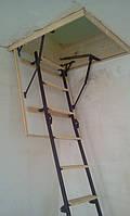 Чердачная лестница по размерам заказчика(Лестницы Украины)  7