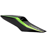 LX250GS-2A GP250  Пластик боковой задний ПРАВЫЙ Loncin - 342080187-0039