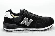 Зимние кроссовки New Balance 574 Black с мехом, фото 3