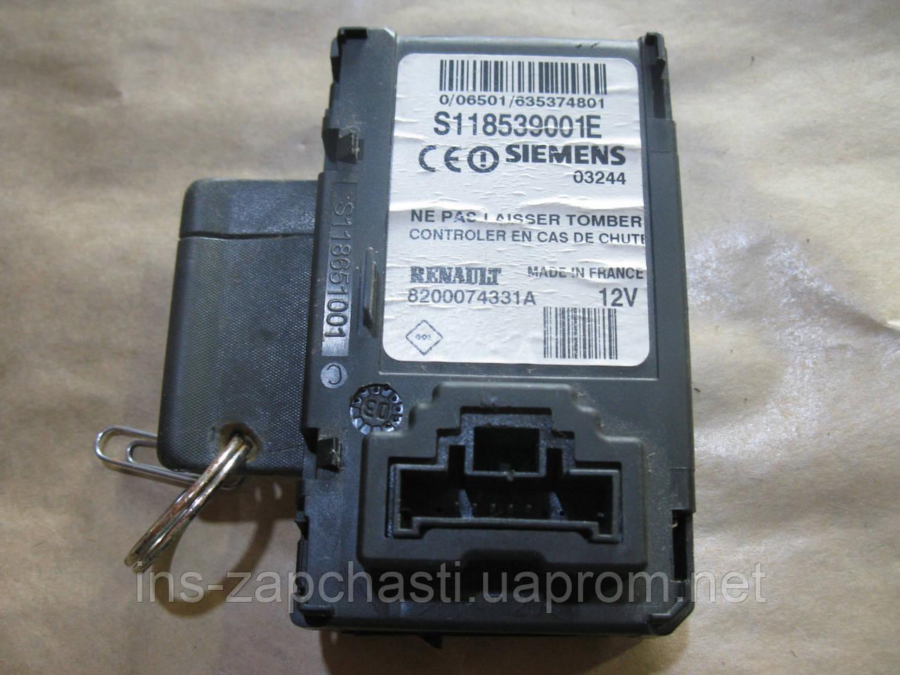 8200074331 Зчитувач ключ-карти Renault Megane II 03-06