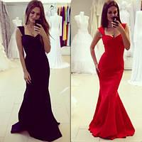 Женское красивое платье в пол в расцветках