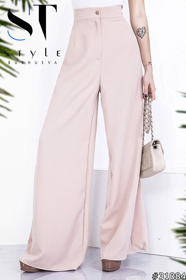 Жіночі брюки палаццо в кольорах (0015-079)