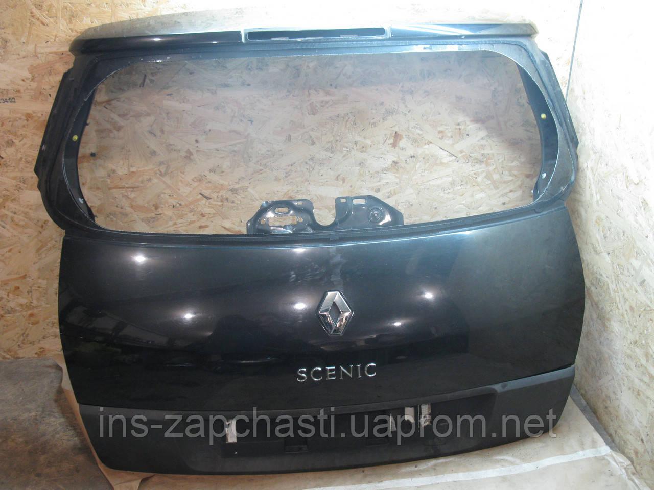 Крышка багажника Renault Scenic 2