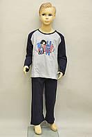 Детская пижама для мальчика (кофта и штаны) Natural Club