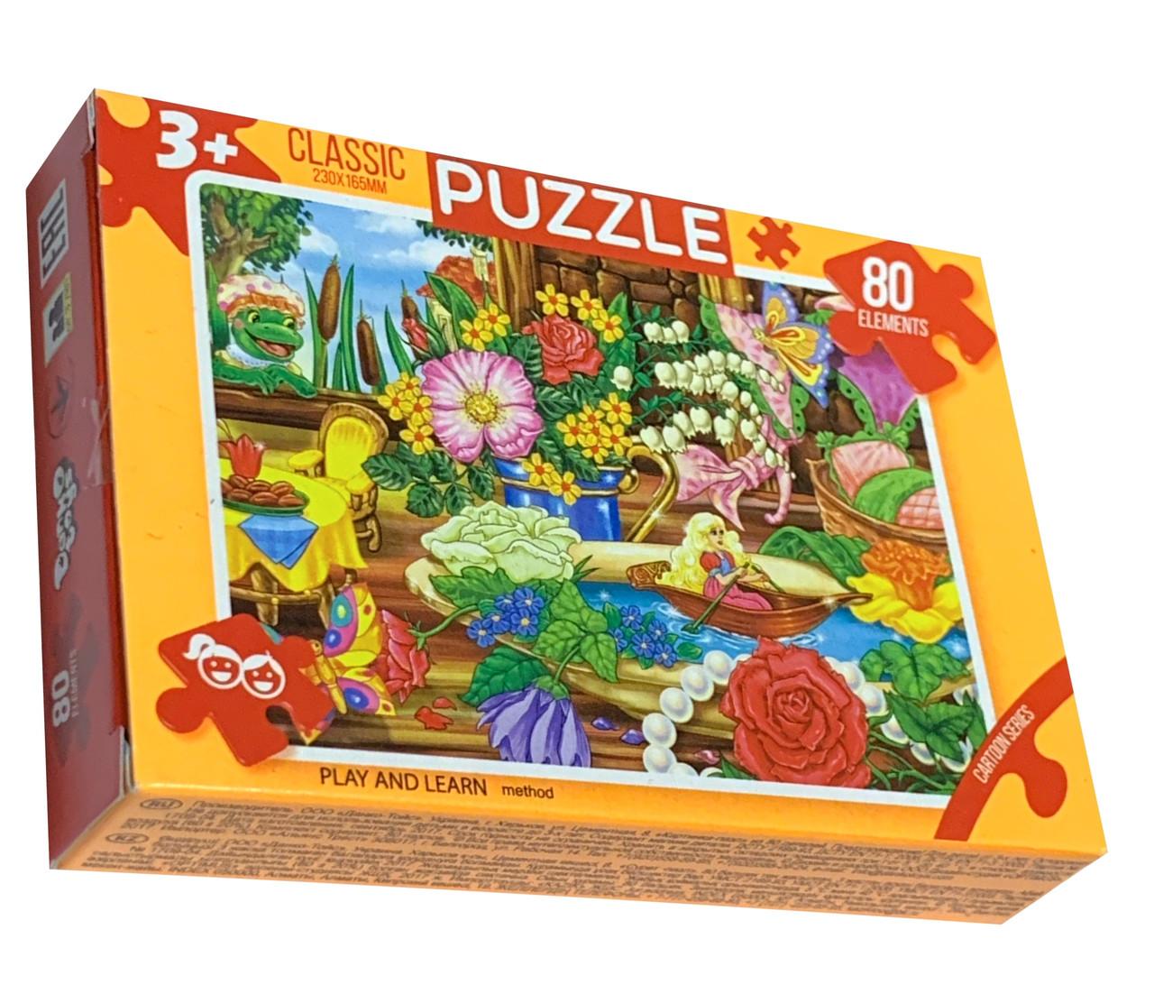 Пазлы детские PUZZLE 80 деталей 3+