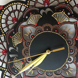 Подсвечники и Часы в росписи