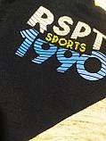 Детская и подростковая спортивная кофтадля мальчика 9-10 лет, 134-140 см, фото 3