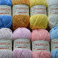 Новинка! Плюшевая ниточка Premium Yarn Baby Love!