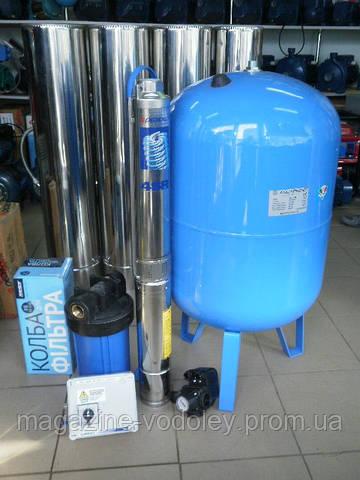 Комплект автоматики для работы скваженного насоса Pedrollo