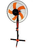 Напольный вентилятор с таймером MS 1620 Fan Timer | Вентилятор бытовой 3 режима