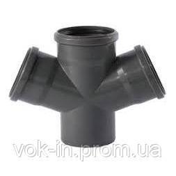 Крестовина канализационная Ostendorf HT внутренняя 87° 110/110/50 мм