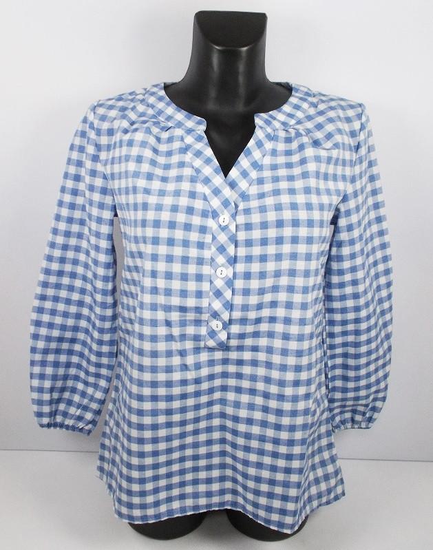 Блуза котон Sedato размер M синяя