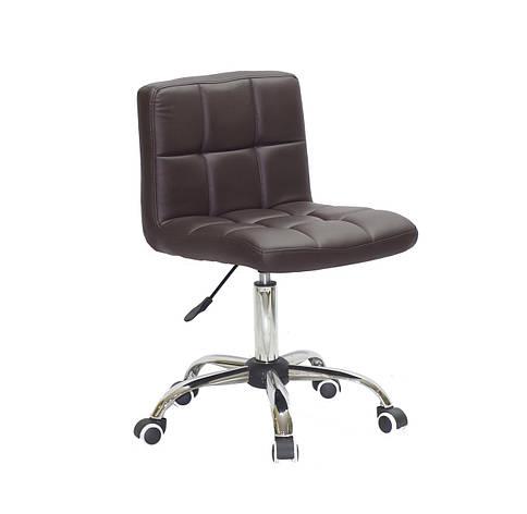 Кресло офисное  на колесах  ARNO СН-OFFICE  еко шкожа , коричневый 1015, фото 2