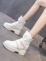 Чоботи Мартін жіночі в британському стилі 2020 осінь і зима нові зимові чоботи з внутрішнім посиленням жіноче взуття дикі короткі черевики на товстій, фото 1