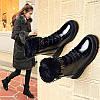 Зимові чоботи жіноче взуття зима 2019 нові бавовняні черевики зимові моделі плюс оксамитові чоботи Мартін короткі чоботи для збереження тепла в
