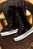 Европейская и американская повседневная обувь в стиле ретро с высоким берцем, универсальная спортивная универсальная обувь на толстой подошве из, фото 1