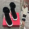 Бавовняні туфлі жіночі зимові плюс оксамитові теплі зимові чоботи жіночі короткі трусики 2018 нова корейська версія диких бісквітних коржів на