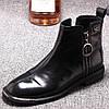Жіночі черевики Spot Martin, осінь і зима 2020, нова жіноче взуття з круглим носком на плоскій підошві, жіночі короткі чоботи в британському стилі,