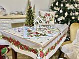 """Наперон\доріжка на стіл """"Різдвяна зірка"""", 37х100 див., фото 3"""