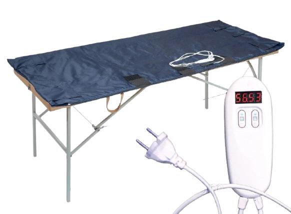 Термоодеяло для СПА  обертываний двух-зонное 147х170 см TM Shine