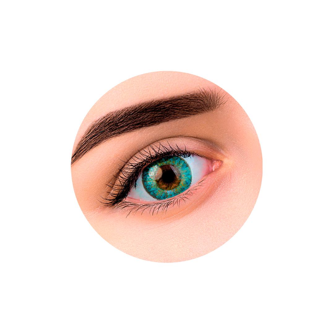 Цветные контактные линзы (Aqva) Silicos (2шт)