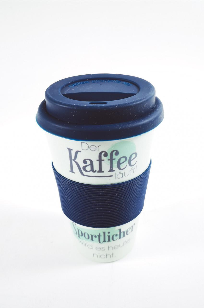 Кофейная кружка to go becher 350ml bambus Der Kaffe