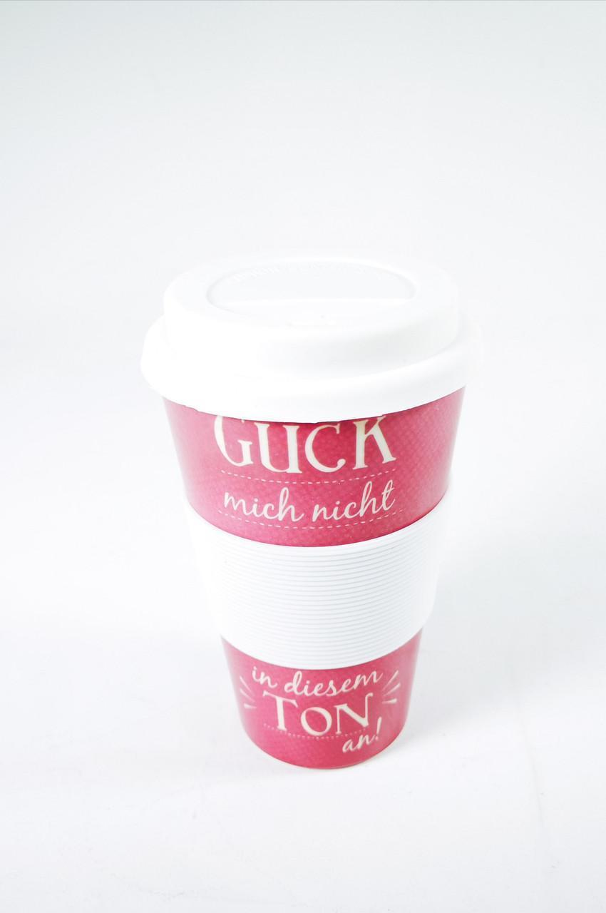 Кофейная кружка to go becher 350ml bambus Guck