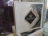 Плед вязаный евро размер  220x240 BELIZZA Турция кремовый, фото 3