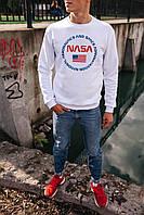 Мужской свитшот/ реглан теплый NASA| НАСА