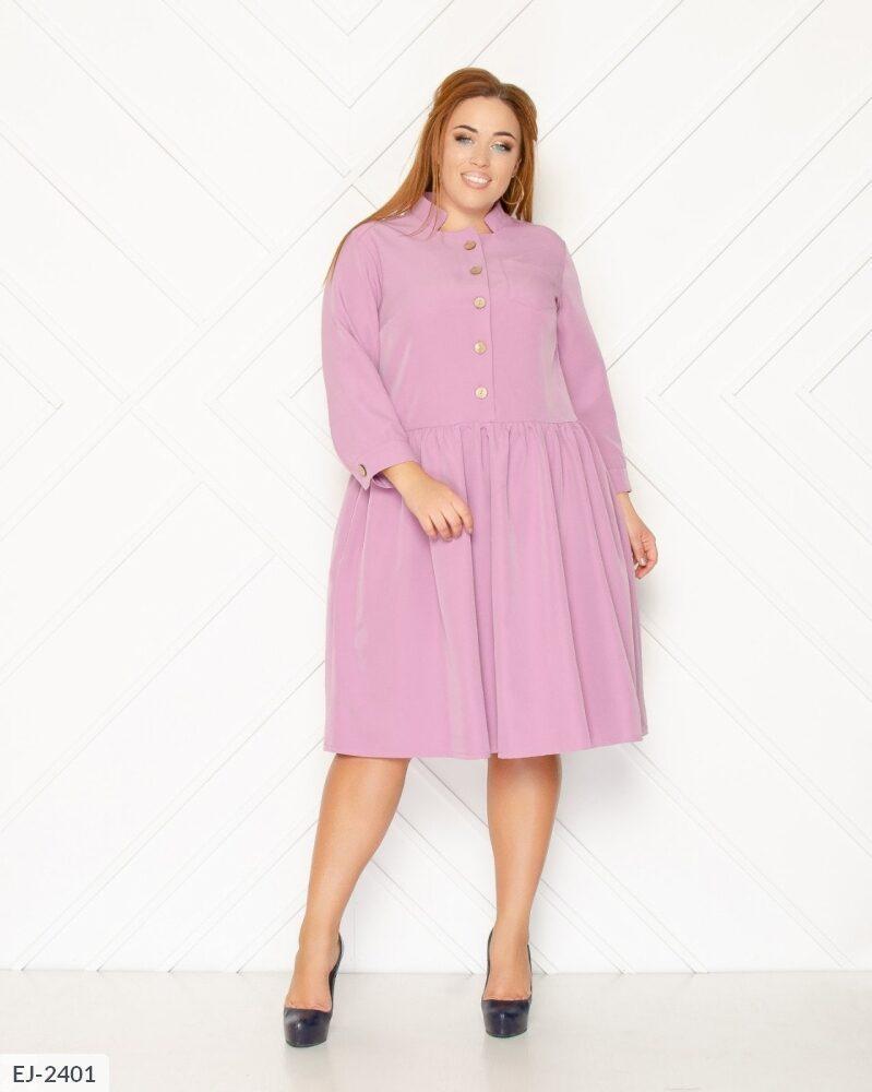 Женское платье большого размера. Размер: 48, 50, 52, 54. Ткань:костюмка. Расцветки:синий, бордо,розовый.