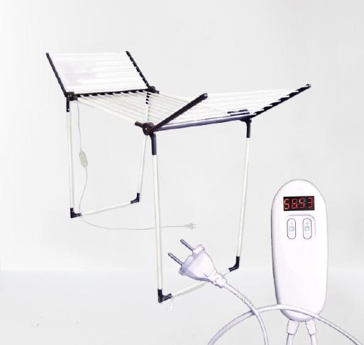 Електросушарка для білизни з таймером і пультом Shine