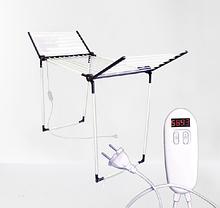 Электросушилка для белья с таймером и пультом Shine