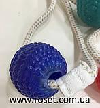 Игрушка для собак канат на присоске с мячом WM-60, фото 7