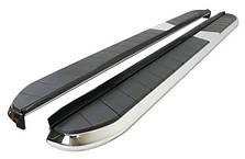 Пороги , подножки на Citroen C-Crosser (с 2007 --)