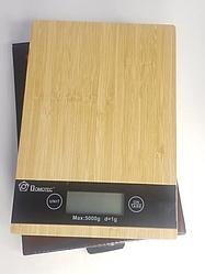 Весы кухонные цифровые до 5 кг веса,ваги кухонні, коричневые