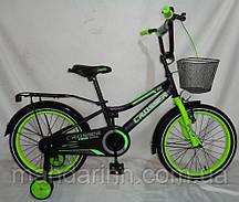 Велосипед детский ROCKY CROSSER-13 14 дюймов Зеленый