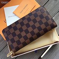 Кожаный кошелек Louis Vuitton LV