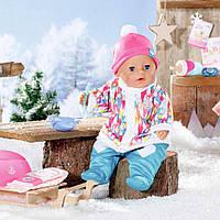 Кукла пупс Baby Born Нежные объятия Оригинал Бэби Борн Зимняя малышка 831281