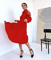 Сукня міді в кольорах 781053, фото 3